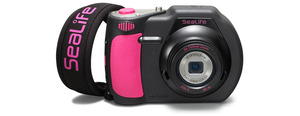 sealife-dc1400-underwater-camera-pink-strap 2